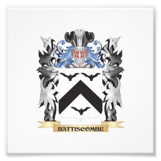 Battiscombe Coat of Arms - Family Crest Photo Print