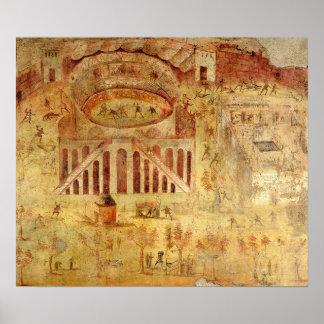 Battle at the Amphitheatre Poster