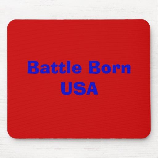 Battle Born USA Mouse Pads