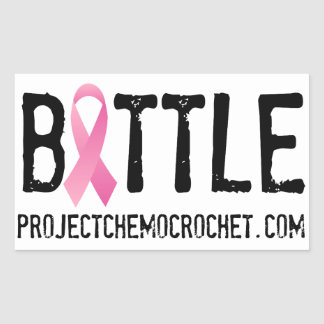 BATTLE breast cancer sticker