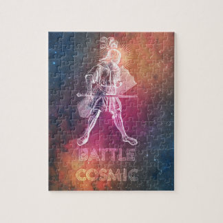 Battle Cosmic Jigsaw Puzzle