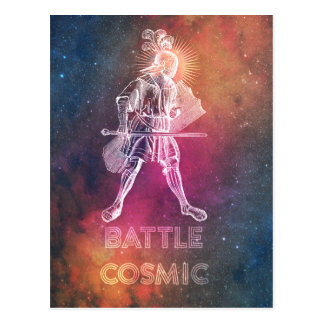 Battle Cosmic Postcard