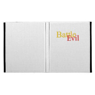 Battle Evil iPad Logo Folio Case iPad Folio Cover