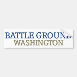 Battle Ground washington Bumper Sticker