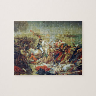 Battle of Abukir July 25 1799 by Antoine-Jean Gros Jigsaw Puzzle