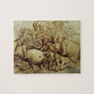 Battle of Anghiari, Leonardo da Vinci, Renaissance Jigsaw Puzzle