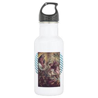 Battle of Archangel Michael, Satan by Tintoretto 532 Ml Water Bottle