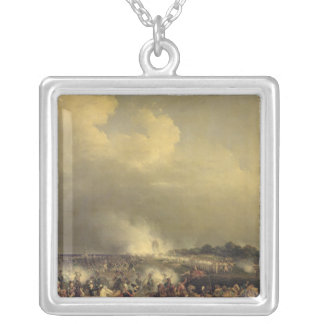Battle of Boussu, 3rd November 1792, 1845 Silver Plated Necklace