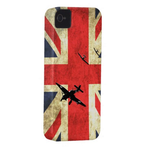 Battle of Britain Spitfire Blackberry Bold Cases