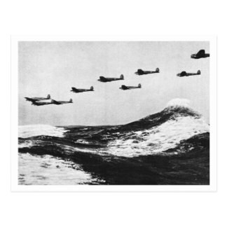 Battle Of Britain & The Blitz: #7 Angriff! Postcard