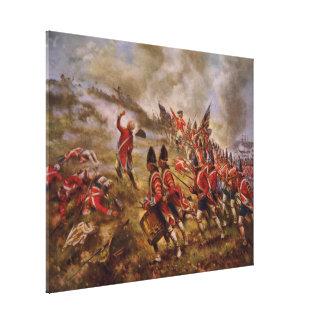 Battle of Bunker Hill by Edward Percy Moran Canvas Print