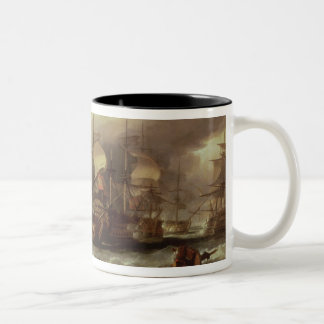 Battle of Cape St.Vincent Two-Tone Coffee Mug