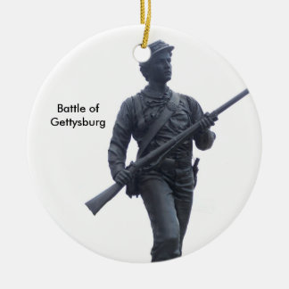 Battle of Gettysburg Soldier Ornament