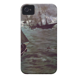 Battle of Kearsage and Alabama by Edouard Manet Case-Mate iPhone 4 Cases