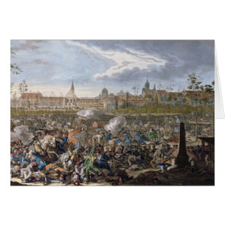 Battle of Leipzig, 19th October 1813 Card