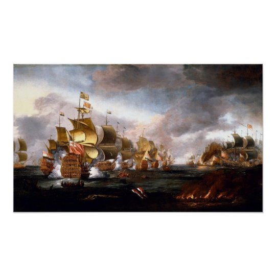 Battle of Lowestoft Poster