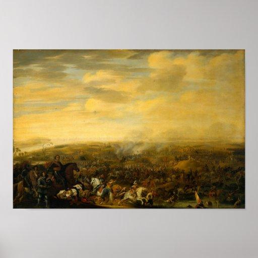 Battle of Nieuwpoort Print