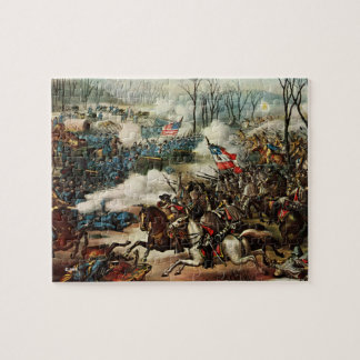 Battle of Pea Ridge Jigsaw Puzzle