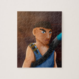 Battle of pencil jigsaw puzzle