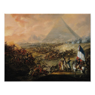 Battle of Pyramids, 21 July 1798 Poster