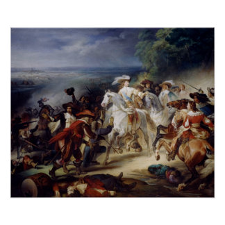 Battle of Rocroy, 19th May 1643, 1834 Poster