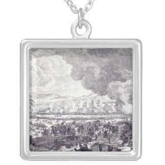 Battle of Rossbach, November 5th 1757 Silver Plated Necklace