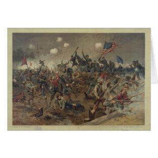 Battle of Spottsylvania by L Prang Co 1887 Cards