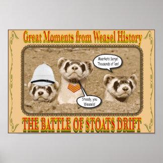 Battle of Stoats Drift Poster