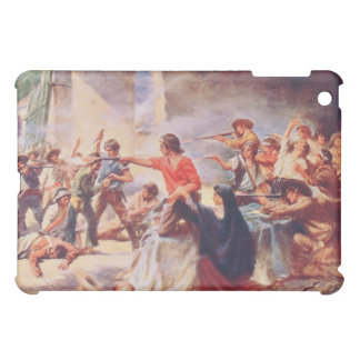 Battle of the Alamo by Percy Moran Case For The iPad Mini
