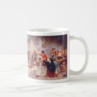 Battle of the Alamo by Percy Moran Classic White Coffee Mug