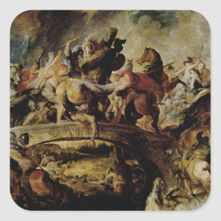 Battle of the Amazons and Greeks , c.1617 Stickers