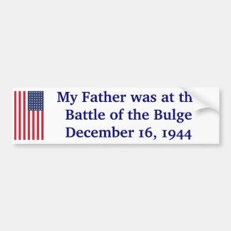 Battle of the Bulge Bumper Sticker