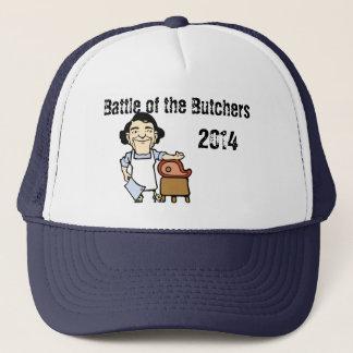 Battle of the Butcher 2014 v3 Trucker Hat