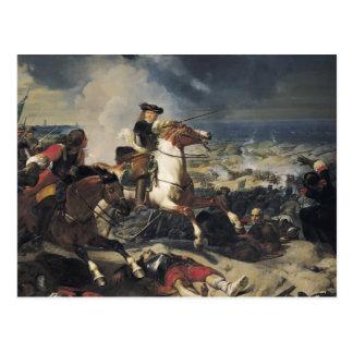 Battle of the Dunes, 14th June 1658, 1837 Postcard