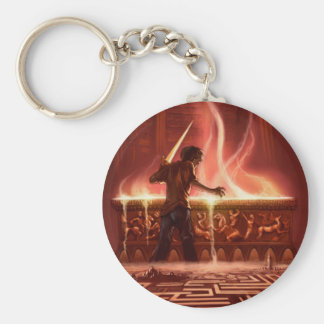 Battle of the Labyrinth Keychain