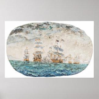 Battle of Trafalgar 1805 1998 Poster