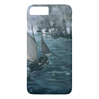 Battle of USS Kearsarge and CSS Alabama by Manet iPhone 7 Plus Case