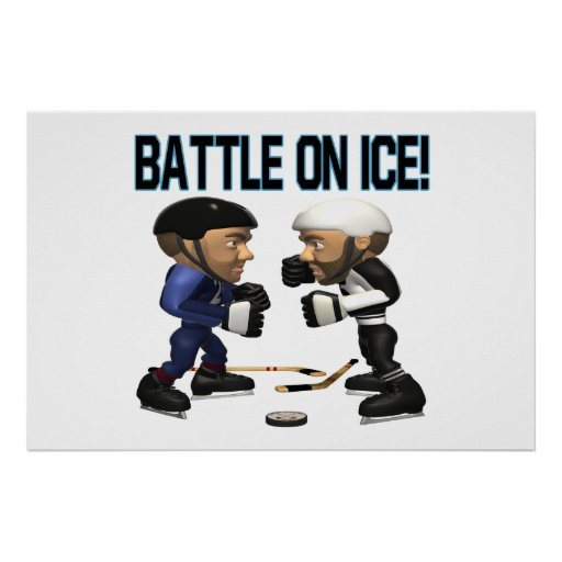 Battle On Ice Poster