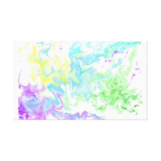 Battle Pastel Canvas Print