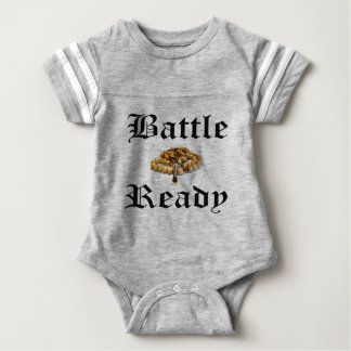 Battle Ready Baby Bodysuit