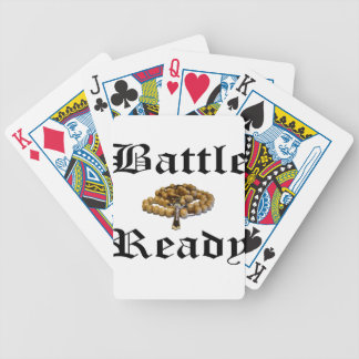 Battle Ready Bicycle Playing Cards