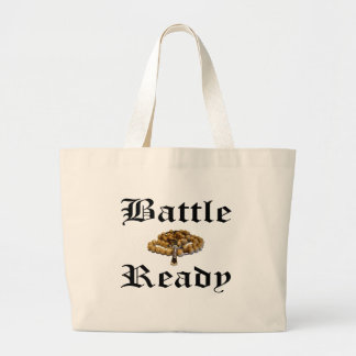 Battle Ready Large Tote Bag