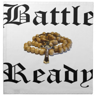 Battle Ready Napkin