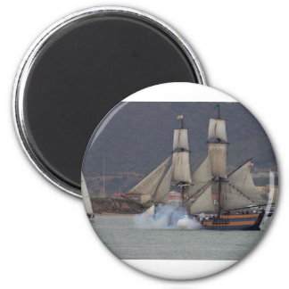 battle-reenactment-at-the-san-deigo-maritime-museu refrigerator magnets