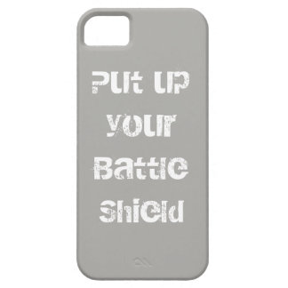 Battle Shield Ready for Action Barely There iPhone 5 Case