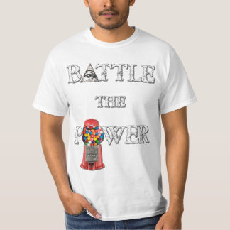 Battle the Power! Double Sided T-Shirt