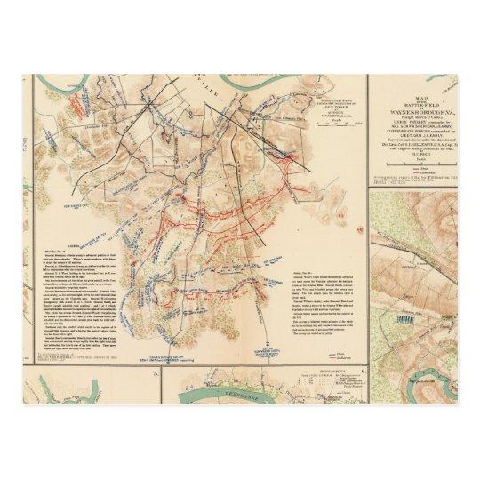 Battlefields Nashville, Tenn Postcard