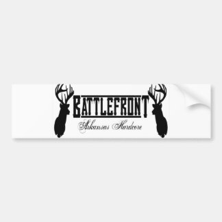 BattleFRONT plain deer Bumper Sticker