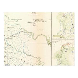 Battlegrounds Richmond, Va Postcard