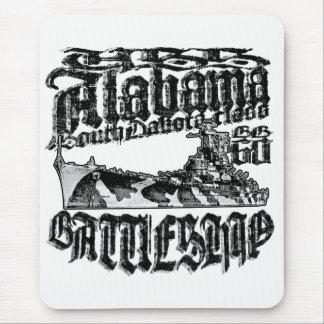 Battleship Alabama Mousepad